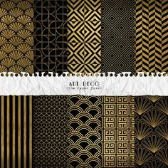 Hey, I found this really awesome Etsy listing at https://www.etsy.com/listing/235797736/black-and-gold-art-deco-digital