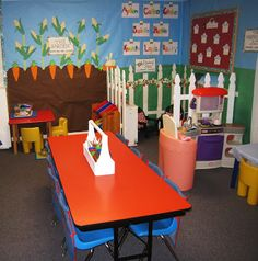 preschool room.