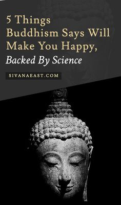 Science Quotes Articles - 5 Things Buddhism Says Will Make You Happy, Backed By Science Buddhist Wisdom, Buddhist Teachings, Buddhist Quotes, Buddha Buddhism, Buddha Art, Spiritual Quotes, Buddha Thoughts, Life Thoughts, Deep Thoughts