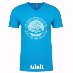 PRE-ORDER - Short Sleeve Storybook Logo Shirt - Blue - Adult #Abilene #Texas #Shirt #Tshirt #StorybookCapitalofTexas