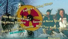 PBS Nova virtual field trip into a viking village. Explore viking artifacts, culture, and the secrets of norse ships Study History, Mystery Of History, World History, History Activities, Teaching History, Interactive Activities, 6th Grade Social Studies, Teaching Social Studies, My Father's World
