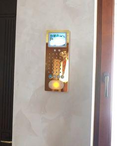 Siedle Gegensprechanlage Projekt von Perao.De. Блок домофона внутри дома.