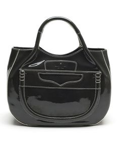 Look what I found on #zulily! Shadow Gray Pretty Penny Treesh Patent Leather Tote by Kate Spade #zulilyfinds