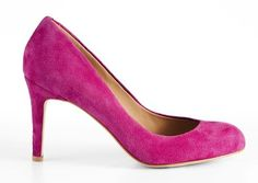 For a pop of color- look to your shoes for inspiration! These hot pink stilettos are the perfect height (not too tall) to get you through the work day.