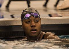Simone Manuel NCAA champion