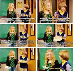 "#GirlMeetsWorld 1x02 ""Girl Meets Boy"" - Farkle and Maya"