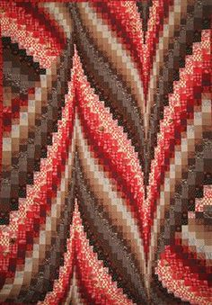 Bargello Quilt - Someday I will make one of these.