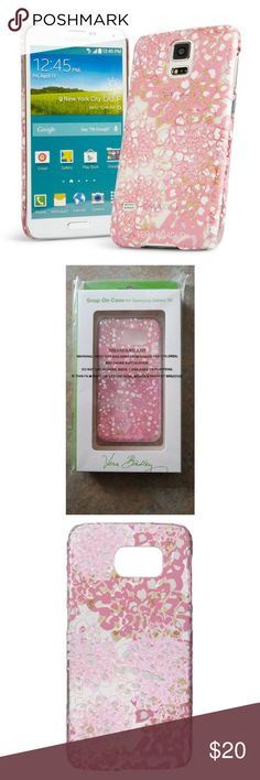 Vera Bradley Chic Pink Case for Samsung Galaxy S6 Vera Bradley Clear and Chic Case for Samsung S6  Blooms Pink Samsung Galaxy S6 phone case. New in Box.  Retail: $38.00   From a smoke free home.  Who wants a plain phone? No one we know. This case is the cure for boring tech. And it provides a bit of protection from the random bumps and drops we all subject our phones to.  Clear shell shows off phone's color. Unique multilayered print design adds dimension. Easy access to phone features. Vera…