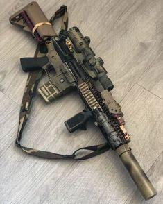 Airsoft Guns, Weapons Guns, Guns And Ammo, Armas Ninja, Firearms, Shotguns, Combat Gear, Black Ops, Custom Guns