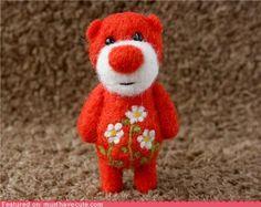 Teeny tiny fuzzy bear