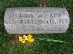 Famous Headstones >Virgil Earp-Deputy U. Corral with his brothers Morgan Earp and Wyatt Earp. History Photos, Us History, American History, Family History, Wyatt Earp Tombstone, Tombstone Arizona, Morgan Earp, Virgil Earp, Famous Tombstones