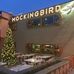 13. The Mockingbird The Mockingbird restaurant in the Gulch neighborhood is located right next-door to #8 on our list, and puts a creative twist on your standard diner fare. Open for dinner nightly, you'll want to make sure you make reservations or figure out how to get a seat on the patio during warmer months. (121A 12th Avenue N)