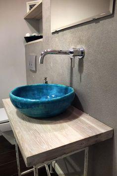 ceramic sink, handmade, PaniPani Handmade Furniture - http://amzn.to/2iwpdj4