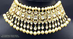 Diamond Polki | Vilandi | Polki | Uncut diamonds | Old cut diamonds | Traditional | Indian | Bridal | Wedding | Kundan Meena | Jadau | Jadtar | Hallmarked | Gold | Enamel | Jewelry | Jewellery | Necklaces | Necklace Sets