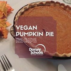 November is World Vegan Month! In the spirit of creating recipes for the holiday's, in today's blog we're going to teach you how to make vegan pumpkin pie from scratch. A big thanks to our culinary team for helping out with this delicious recipe!