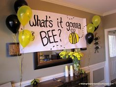 what's it gonna BEE? baby shower