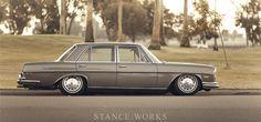 Preserving Elegance: Ed Alderson's Bagged Mercedes Benz 280SE Andrew Ritter