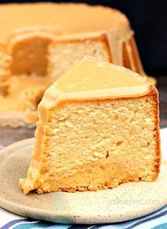 peanut butter pound cake with peanut butter glaze | 18 Pound Cake Recipes That Are Too Good To Be True