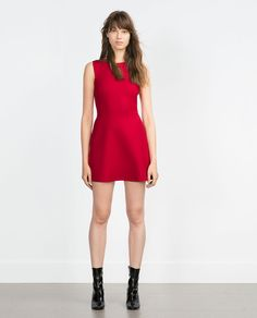 Image 1 of SHORT DRESS from Zara
