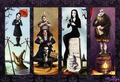 The Addams Family in The Haunted Mansion