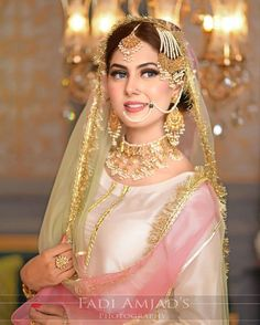 Pakistani Bridal Couture, Pakistani Bridal Makeup, Bridal Mehndi Dresses, Desi Wedding Dresses, Pakistani Wedding Outfits, Indian Bridal Outfits, Simple Pakistani Dresses, Pakistani Dress Design, Beautiful Dress Designs