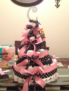 Diaper Cake by me!