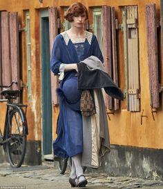 The Danish Girl:  November 27, 2015 - The great Dane: Eddie Redmayne was seen on the set of his upcoming film, The Danish Girl, in Copenhagen, Denmark.