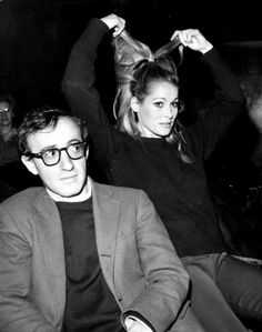 Woody Allen & Ursula Andress  (if only they paired up)