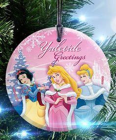 Starfire Prints™ Disney Princesses Glass Ornament
