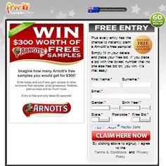Win A Free Samples From Arnotts