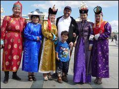 Some Mongolian people.