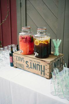 www.yourbox.bigcartel.com dispensadores de bebidas. limonada. fiesta. boda.