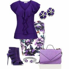 For the love of purple!