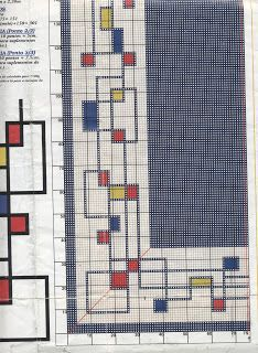 cris-pontinhosmeus: Tapete de arraiolos geométrico