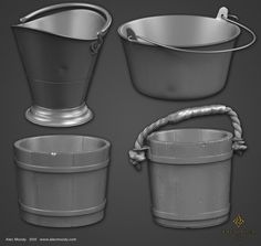 Buckets for The Order 1886, Alec Moody on ArtStation at https://www.artstation.com/artwork/buckets-for-the-order-1886