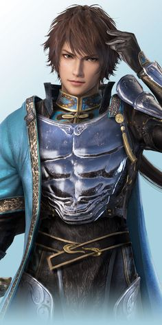 Dynasty Warriors 8 - Jia Chong, artwork | Dynasty Warriors ...