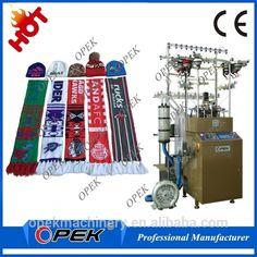 5b8150b32c9 Source OPEK Automatic football fan Scarf knitting Machine Manufacturer in  China on m.alibaba.com