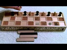 Senet - How to Play (Part 1 of 3) - YouTube Video. X
