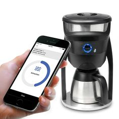 The Smartphone Controlled Coffee Maker - Hammacher Schlemmer
