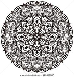 Mandala Coloring Book pattern design  zentangle oval round vector, Mandala, Vector Mandala, floral mandala, flower mandala, oriental mandala, coloring mandala