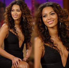 Beyonce's  hair!