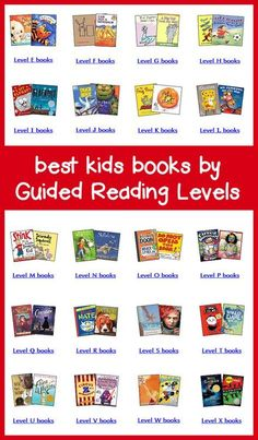 This page lists of the best children's books by Fountas & Pinnell Guided Reading Levels. Includes links to buy new books or leveled book sets.