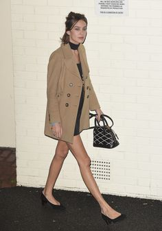 A Camel Coat Will Always Be in Style