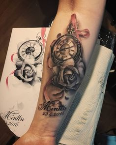 Really happy with this. Easy piece #pocketwatch #pocketwatchtattoo #rose #rosetattoo #bnginksociety #bngtattoo #bwtattoo #tattoo #realistictattoo #realisticart #inked #inkedgirls #turkutattoo #soulskintattoo