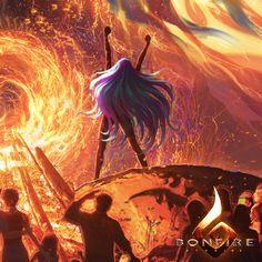 The Phoenix, Wei Wang on ArtStation at https://www.artstation.com/artwork/oeAJB