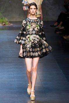 Manon Leloup (Dolce & Gabbana SS14