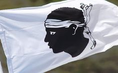 The flag of Corsica