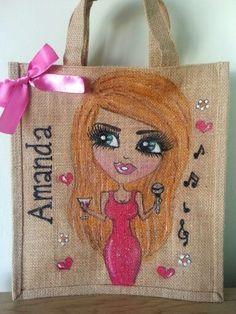 Lovely personalised jute bags