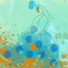 "Canvas Print by Irena Orlov 16"" x 16"""