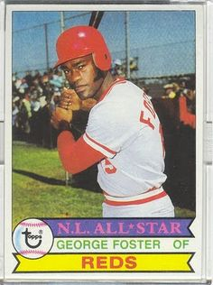 George Foster baseball card - Google Search